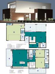 modern plan ultra plans contemporary homes houseplan 61custom houseplans