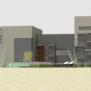 Luxury Modern Courtyard House Plan 61custom