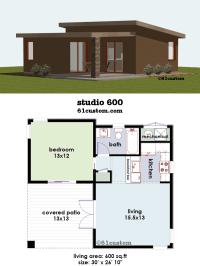 studio600: Small House Plan | 61custom | Contemporary ...