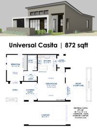 Universal Casita House Plan | 61custom | Contemporary ...
