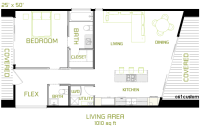 the minimalist: Small Modern House Plan | 61custom ...