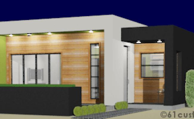 Casita Plan Small Modern House Plan 61custom