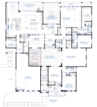 House Plans and Design: Contemporary House Plans With