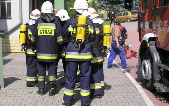 Ewakuowano pracowników poczty przy ul. Z. Urbanowskiej w Koninie