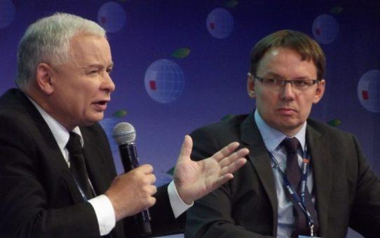 Jarosław Kaczyński MUREM za Lechem Wałęsą