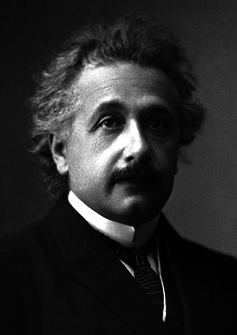 Albert Einstein was the original theorist who started the hunt for gravitational waves.