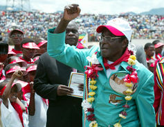 Zimbabwe's President Robert Mugabe is known for his strident homophobia. Reuters