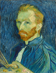Vincent van Gogh painted some 36 self-portraits in ten years. Vincent van Gogh, Self-Portrait, 1889. National Gallery of Art