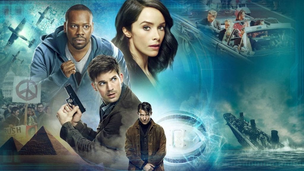 #Clockblockers: Take a look at the wildest 'Timeless' fan theories 1