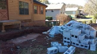 Block delivered for Front Porch