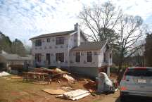 After the rain - shingling continue