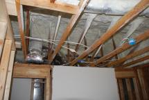 Insulated roof over Second Floor