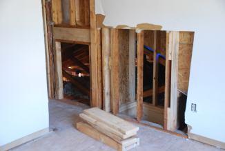 New Access door to lower attic area