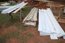 New materials - siding, trim, and beadboard