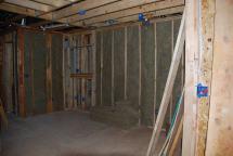 Sound insulation between Loft and new Bathroom
