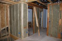 Sound insulation around original Bathroom at Loft