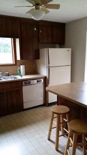 Kitchen mostly empty