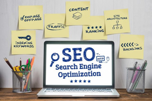 SEO with different aspects of it.