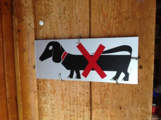 Rampant and unauthorised sausage dogs are a real problem in Swiss alpine huts