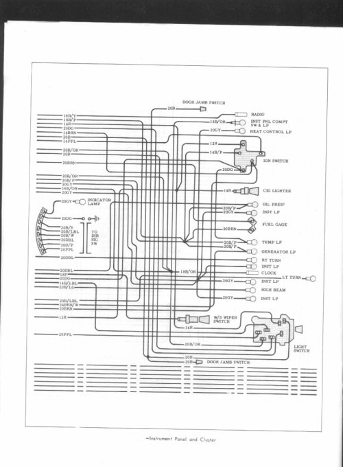 small resolution of 67 chevelle dash wiring diagram free download
