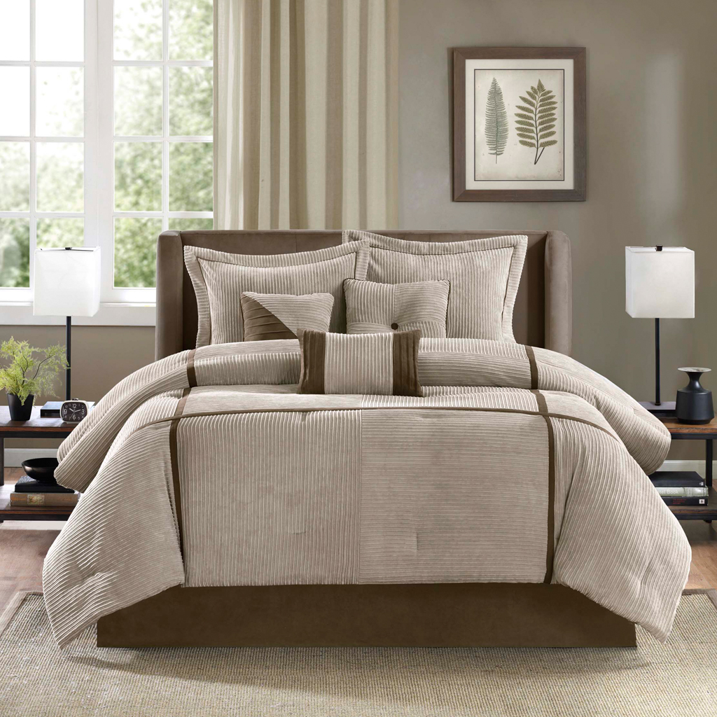 Madison Park Dallas 7 Piece Comforter Set