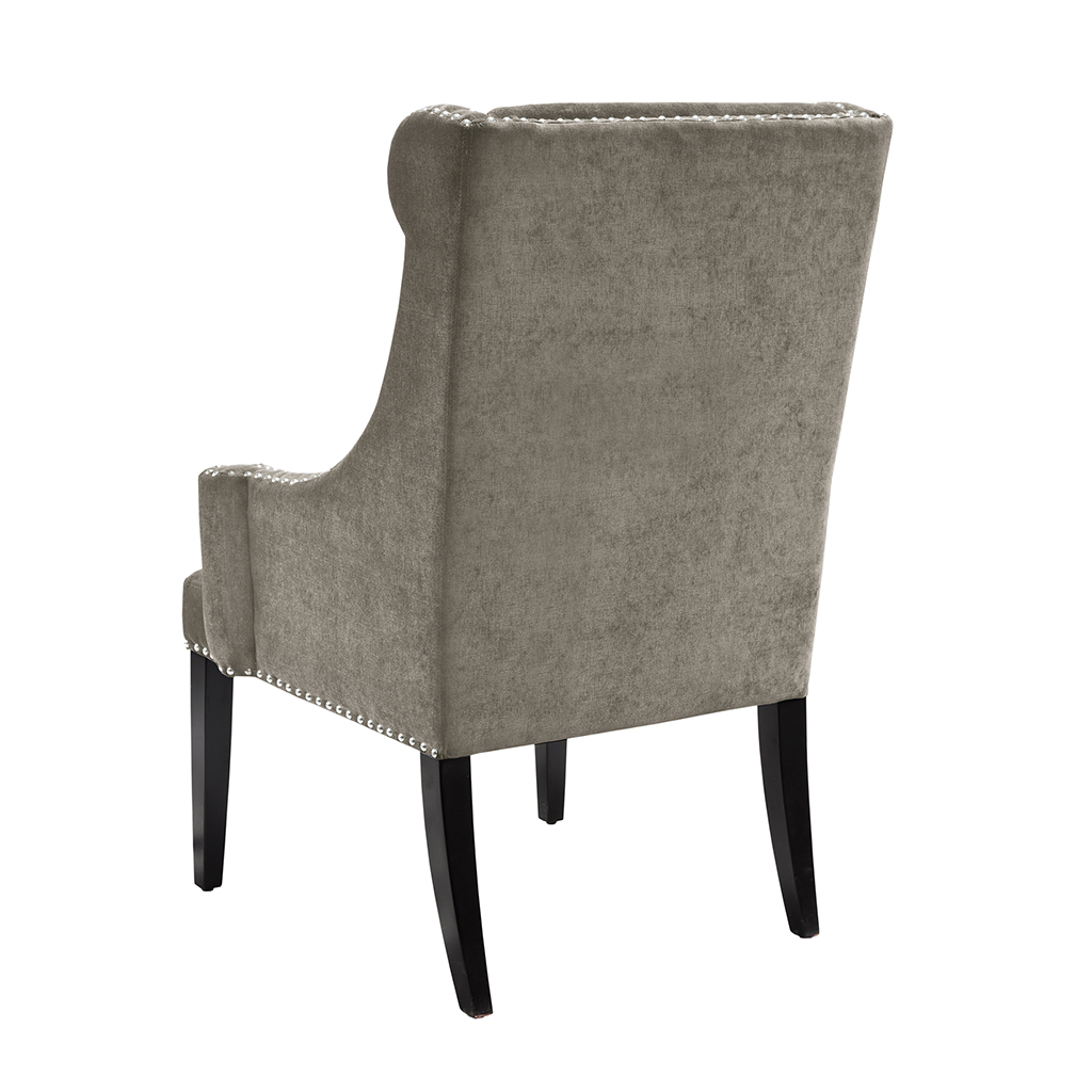 high back wing chairs office chair yoga video madison park marcel ebay