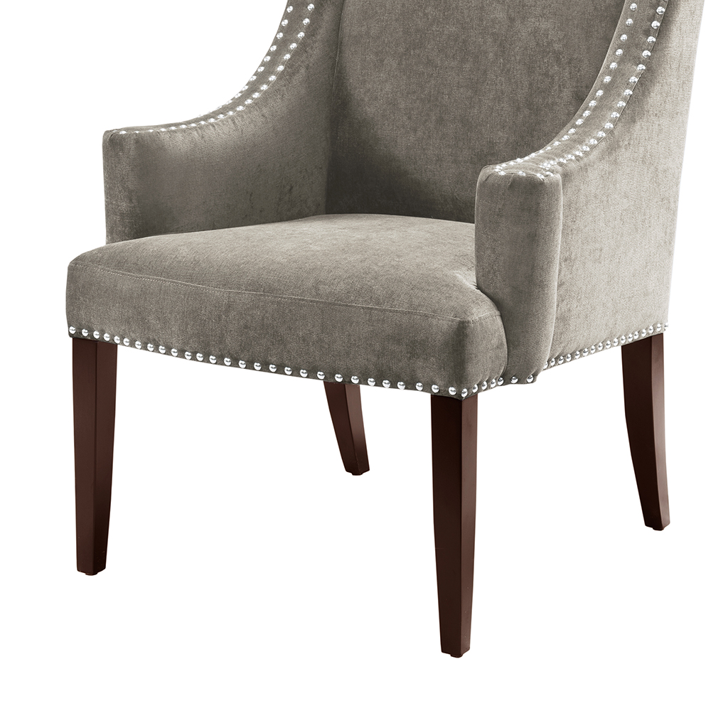 High Back Wing Chair Madison Park Marcel High Back Wing Chair Ebay