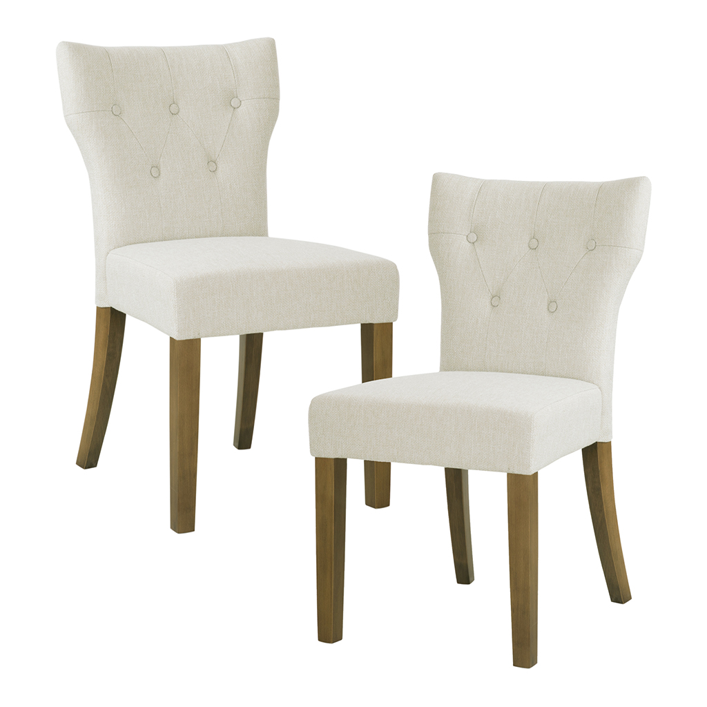 kohls dining chairs contemporary leather madison park avila tufted back chair set of 2 ebay