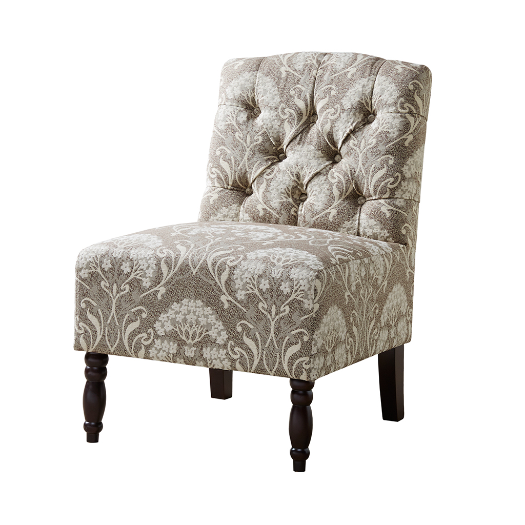 Armless Accent Chairs Madison Park Lola Tufted Armless Chair Ebay