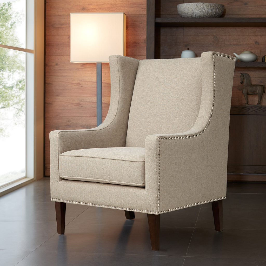 Barton Chair Madison Park Barton Wing Chair Ebay