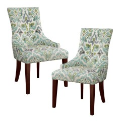 Set Of 2 Dining Chairs Outdoor High Table And Perth Madison Park Corbel Tufted Back Chair Ebay