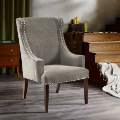High Back Wing Chairs Swing Chair For Rent Madison Park Marcel Ebay