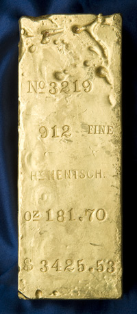 Largest Gold Bar : largest, Goldberg, Coins, Collectibles