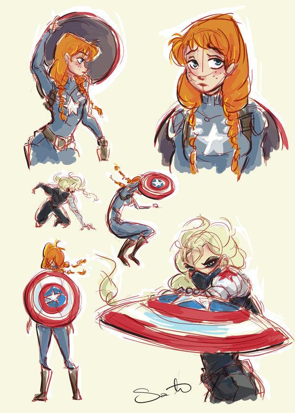Spiderman X Elsa : spiderman, Behind, Scenes, Nation, Gameraboy:, Superheroes, By...