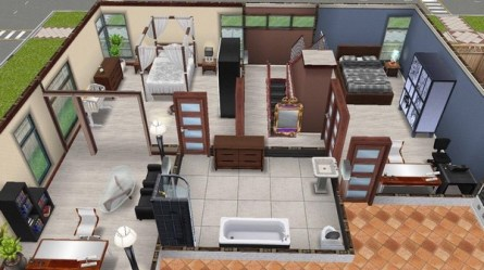 Sims Freeplay Houses design Gallery