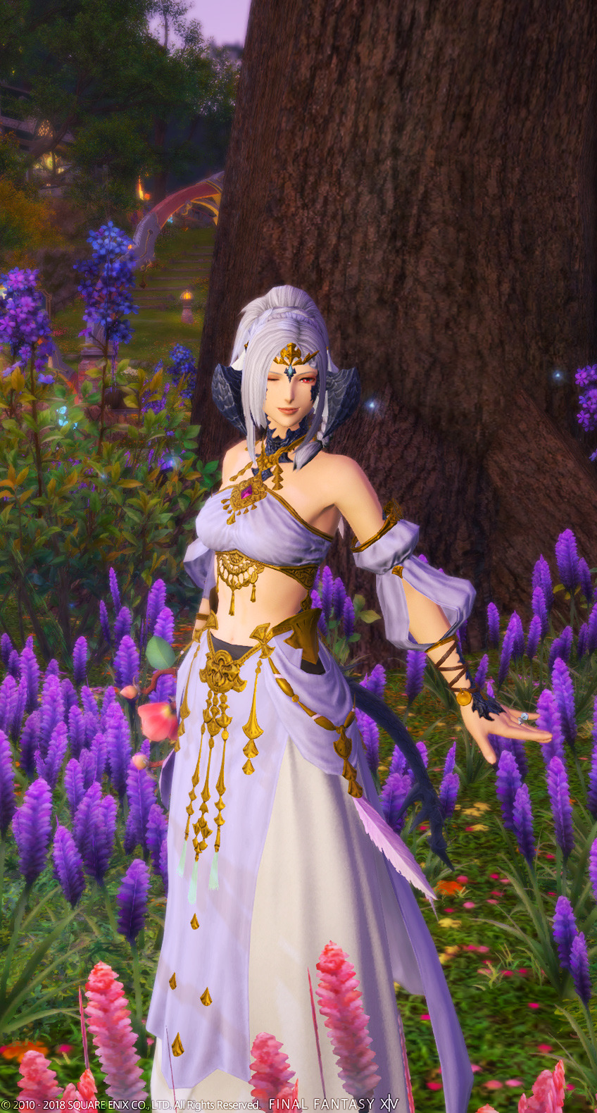 Gyr Abanian Plait Hairstyle - Final Fantasy XIV A Realm