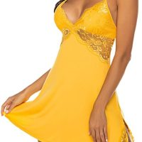 Women Chemise Lingerie Sexy Nightie Full Slips Lace Babydoll Sleepwear Dress. Perfect for loungewear and sleepwear.Wear it as full slip under your clothes or nightgown.The special design and modern makes you more attractive, charming and fashionable. Fri, 01 Jan 2021 09:36:32 +0400