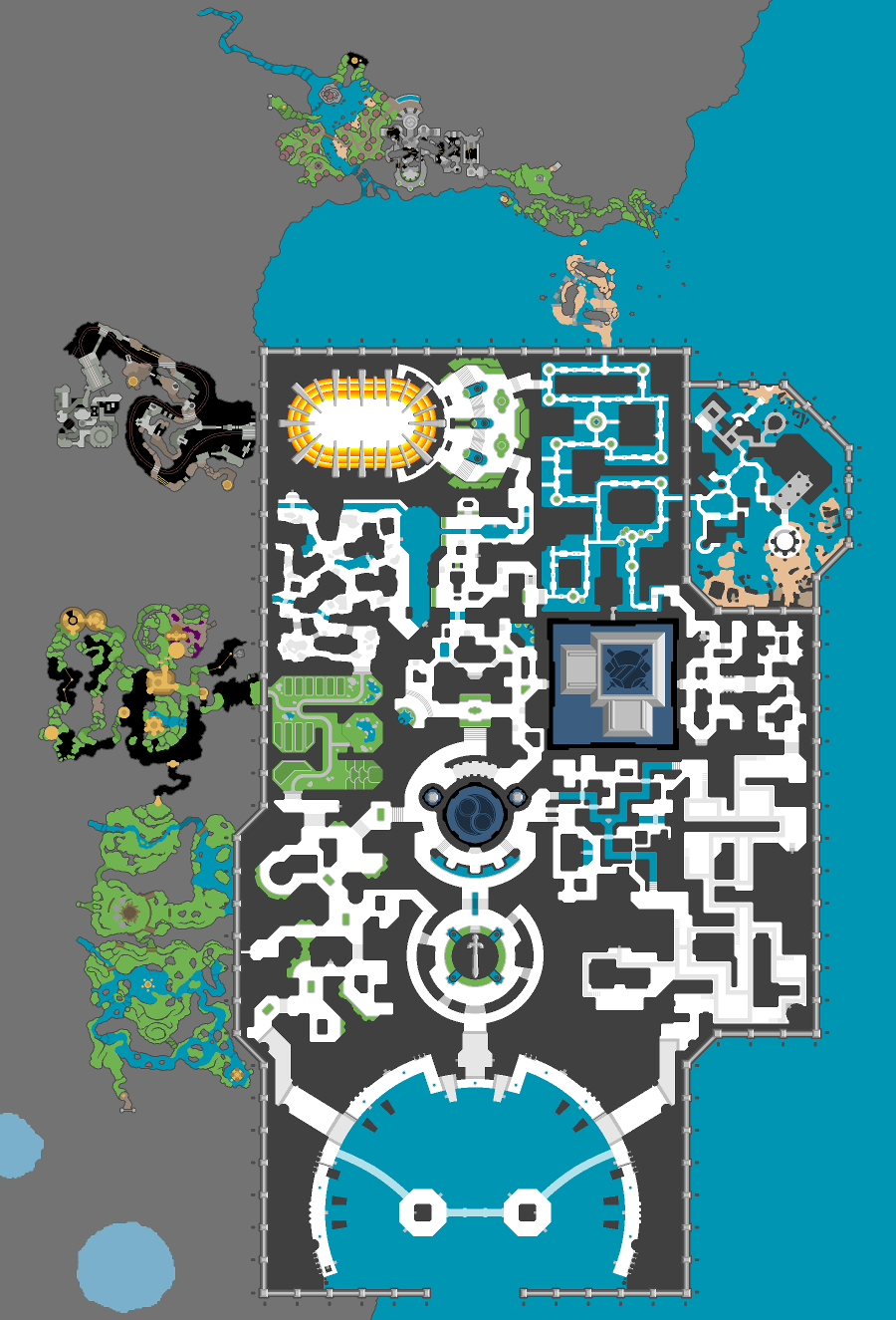 Jak And Daxter Map : daxter, Ceteri, Still, Working, Nearly...