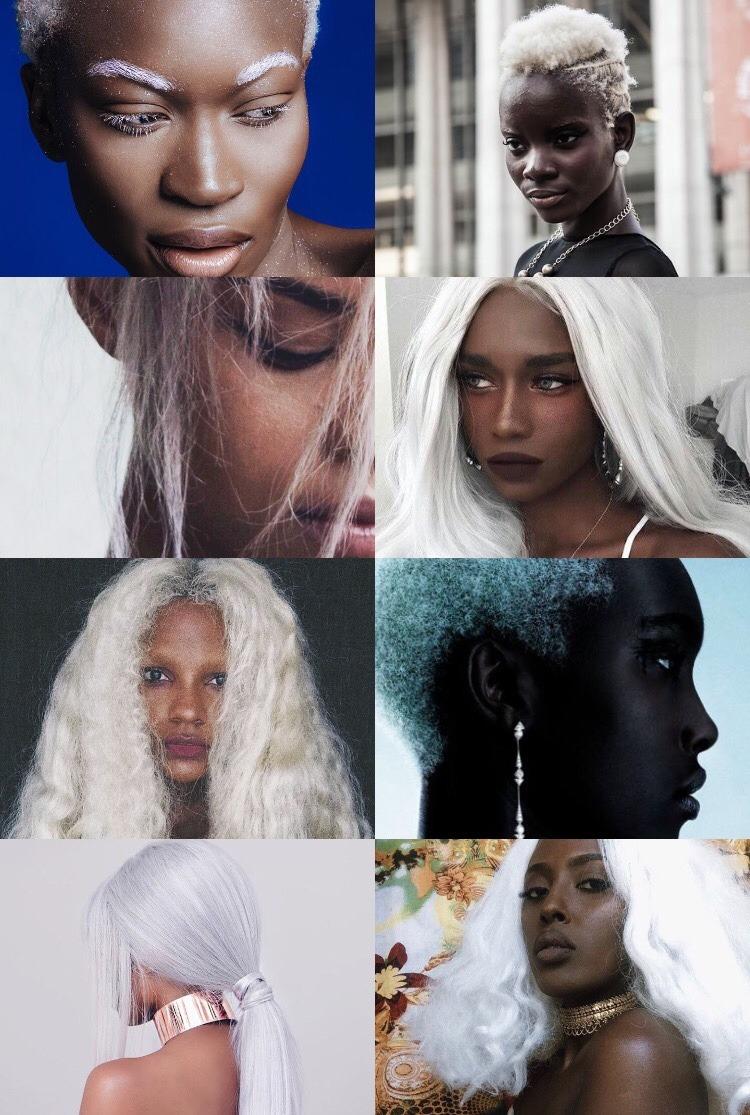 White Hair Aesthetic : white, aesthetic, Magic✨, Black, Aesthetic:, White, Claim...