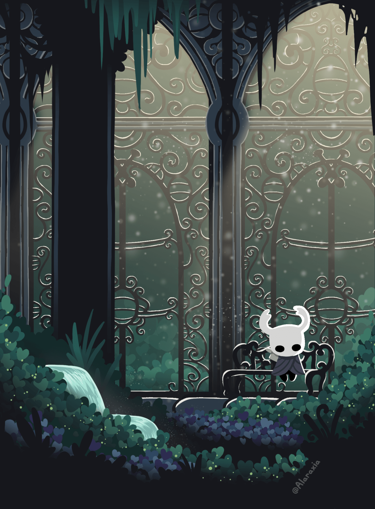 Queens Garden Hollow Knight : queens, garden, hollow, knight, Alaraxia, Elegy, Hallownest