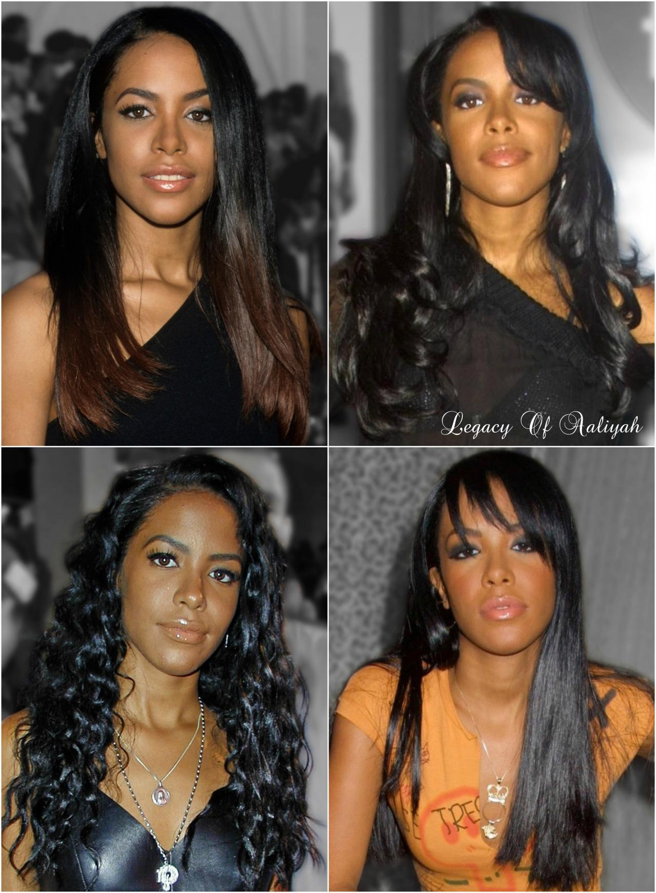Aaliyah Hairstyle : aaliyah, hairstyle, Legacy, Aaliyah