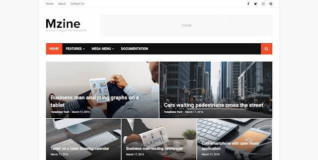 Surogou view this free template ». Blogger Templates 2020 Mzine Best Magazine For Viral Website Blogger