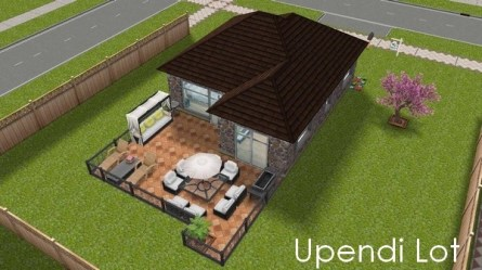Sims Freeplay Houses design Gallery Upendi Lot Small single storey house for a