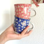 Blushing Found Some Really Cute Hand Painted Mugs From The