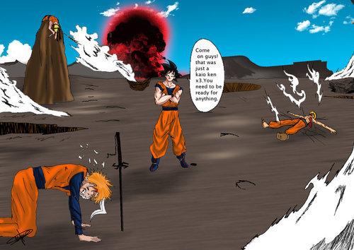 Which one has the better anime and. Naruto Vs Ichigo Vs Goku Vs Luffy Who Wins There Tumbex