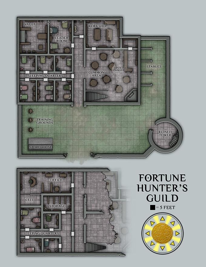 Dnd Fort Map : Stuff, Commission, @venatusmaps., The...