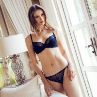 Bella Unlined Floral Sheer Lace Demi Bra Non-Padded Comfort Lift Balconette Mesh Underwire for Women. Adorned with sheer mesh lace and floral trim, this unlined lace bra contours your every curve for a comfortable fit without the extra padding. Lightweight and luxe design makes this cute balconette bra ideal for any everyday activity. Add Bella Lace Bikini as the perfect matching bottom to complete the look. Wed, 30 Dec 2020 19:12:42 +0400