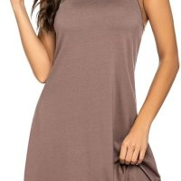 Sexy Sleepwear for Women Tank Nightgown Chemise Racerback Sleeveless Sleep Dress. Women tank sleep dress with perfectly-lined hems keep you looking cute as lounge wear, night wear, or casual wear at home and outside. Fri, 09 Apr 2021 04:48:32 +0400