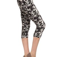 Premium Quality Ultra REGULAR and PLUS SIZE Soft Best Selling Capri Cropped Print Leggings. These feel AMAZING t hey are Capri, better priced Let's. I bought two and once I am done with this review I am purchasing more! I am well e ndowed on my bottom and have think thighs. I am a size 12 jeans (on a good day) and size large on regular leggings and e xercise pants. The one size fits me perfectly, not tight, not lose, doesn't hang low and I don't have to keep pullin g them up like I normally do with tights due to my large behind. I absolutely recommend these! NOTE the Lilac in Bloom i s not as pink as in the sellers picture. I've attached a picture of what it looks like in the sun. Sat, 13 Feb 2021 14 :24:21 +0400
