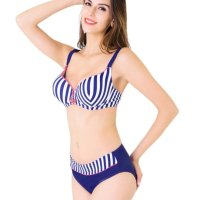 high-quality material and comfortable swimsuit with 100% material object photography and best services.The bikini features is two piece stripe bathing suit with adjustable shoulder straps, an anchor in the front, unique style, create a illusion for stunning curves.This summer, think all things feminine, delicate and beautiful. Sun, 13 Jun 2021 09:36:30 +0400